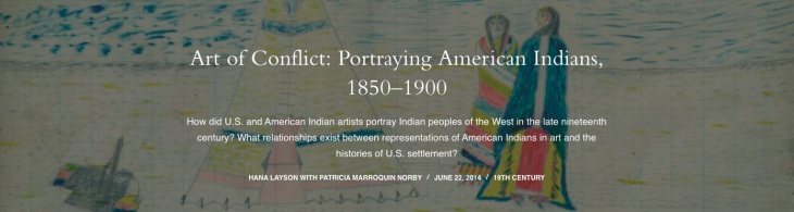 Art of Conflict: Portraying American Indians, 1850-1900