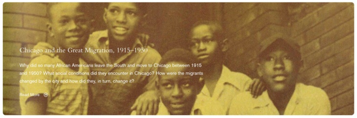 Chicago and the Great Migration, 1915-1950