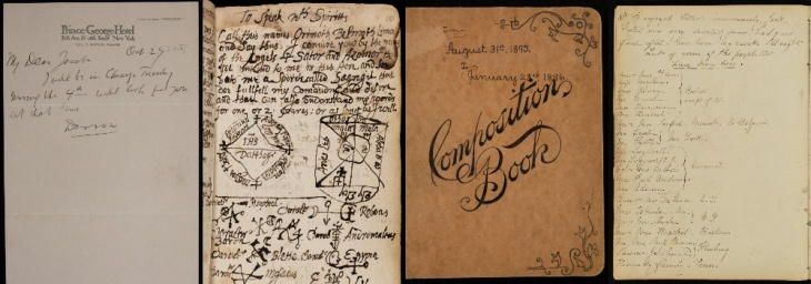 Examples of manuscripts uploaded to Newberry Transcribe