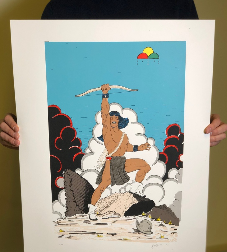 Using the idiom of the comic book, Jason Garcia's Tewa Tales of Suspense! Series considers the Pueblo Revolt of 1680 while leaving a deep and memorable impression.