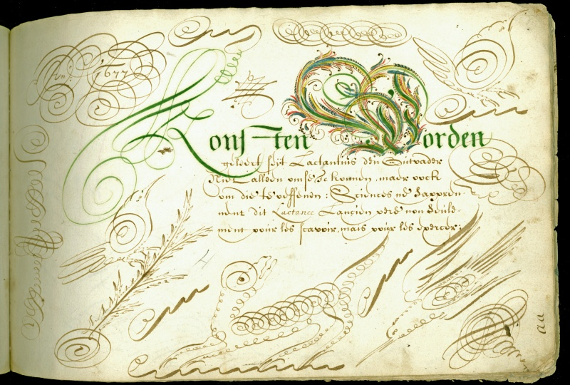 Calligraphy Historical Examples Newberry