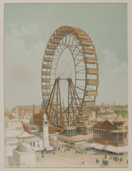 pictures from an exposition visualizing the 1893 world s fair