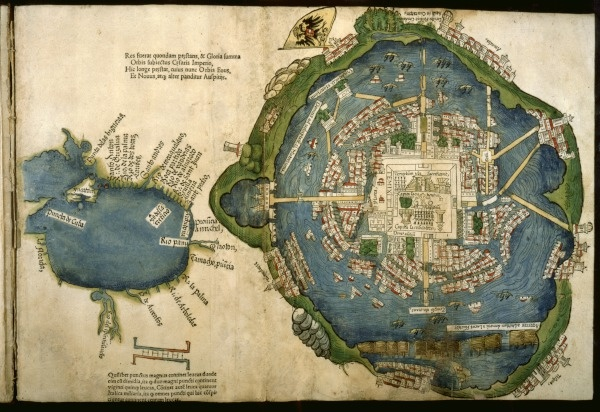 Aztecs and the Making of Colonial Mexico – Aztec Mexico Map
