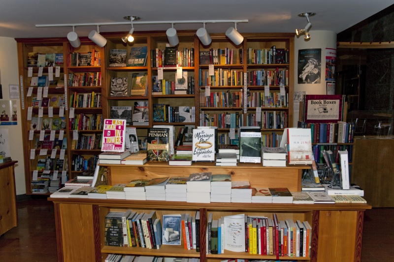 A wide selection of titles are available for purchase in the Newberry ...