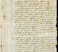 Benvenuto Cellini (authenticity uncertain), Letter to Giovanni Caccini, 27 November 1565, Florence, Newberry Case MS 5A56, pg. 1
