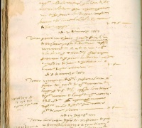 Liber memoralia, 1557, Newberry Barga collection (Angelio family collection), Case MS 5A 46, f. 24v.
