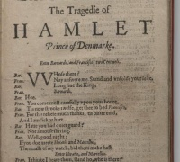 The tragedy of Hamlet, Prince of Denmark, 1703.