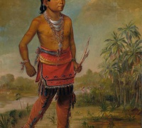 George (1840).	 Osceola Nick-a-no-chee, a Boy. Smithsonian American Art Museum.