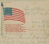 George Deal letter, Camp Dennison, Ohio, October 23, 1862