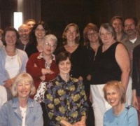 Members of the 2005 summer seminar