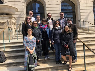Newberry Fellows' fieldtrip to the Art Institute, 2019