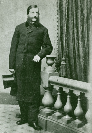 William Frederick Poole, the Newberry's first librarian