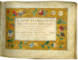 A New Yeeres Gvift, by Esther Inglis