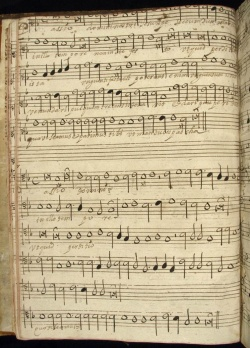 Mexican Choirbooks, Newberry Case MS 5148, vol. 5, 12v