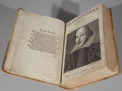 Shakespeare First Folio.
