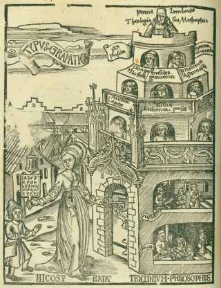 Gregor Reisch, Margarita Philosophica. Basel: Michael Furter, 1517. Newberry Wing ZP 538 .F985.