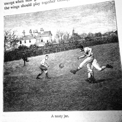 From the Library of Sports and Pastimes: Athletics and Football