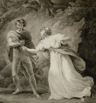 Cymbeline, Act III, scene IV, from A collection of prints, from Shakspeare. Newberry Case YS 65 .11, vol. 2.