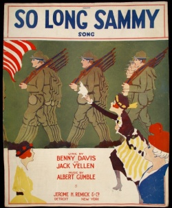 Driscoll Series 6, Box 168, So Long Sammy, Cover