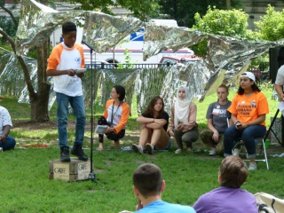 Youth Soapbox speaker