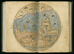 Tarih-i Hind-i garbi, Old World, 1600. Newberry Ayer MS 612, map 3.