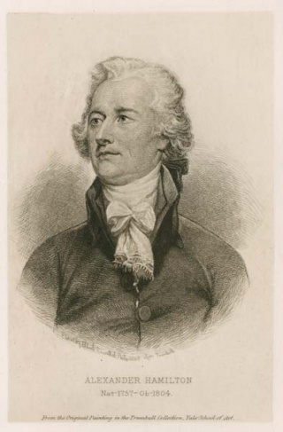 Alexander Hamilton, from Washington Irving's The Life of George Washington, 1889