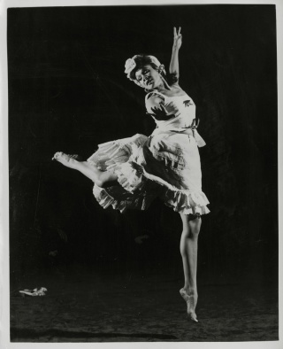 Katherine Dunham in L'Ag'Ya, c. 1938, Ann Barzel Research Collection