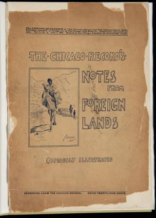 The Chicago Record's Notes from Foreign Lands by John T. McCutcheon, 1899.