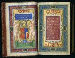 Wing ZP 535 .A354 (Vault), Divina commedia, title page