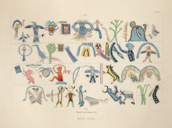 From Archives of Aboriginal Knowledge, by Henry R. Schoolcraft. 1860.