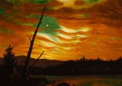 Frederic Edwin Church, Our Banner in the Sky, 1861. Terra Foundation for American Art, Daniel J. Terra Collection.