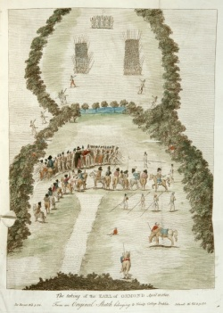 """""""The Taking of the Earl of Ormond.""""  Antiquities of Ireland. 5A 4442"""