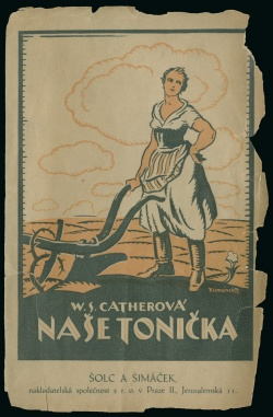 Undated Czech translation of My Antonia, published in Prague