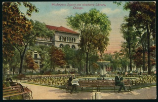 Washington Square postcard