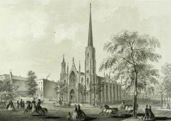 Second Presbyterian Church, from Chicago Illustrated. Graff 3747.