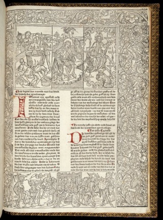 Heinrich Quentell's Bibel from Cologne, circa 1478