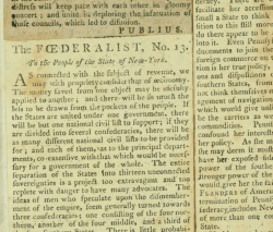 The Federalist, nos. 1-33, p. 21 issue #13