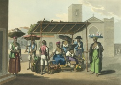 A Market Stall. c.1822. Ayer 1269 B8 C44 1822.