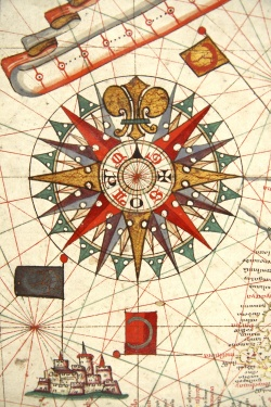 Detail of Rose Compass