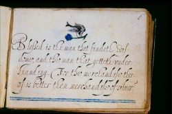 Esther Inglish, A New Yeeres guift, 1606, Wing MS ZW 645 .K29