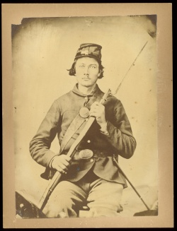 L.S. Willard. Photograph of George Deal. 1862.