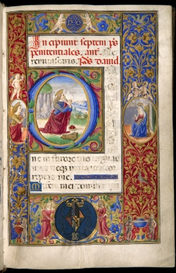 Prayer Book of Anne of Brittany, Florence, after 1499, Case MS 83