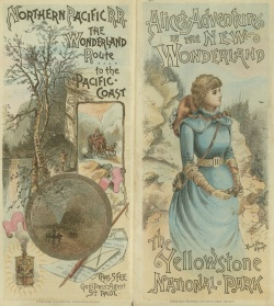 Alice's Adventures in the New Wonderland. 1884. Map 4F G 4262 .Y4 1884 H3.