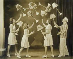 Clarke Family Juggling. ca. 1927.