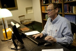 Librarians at the reference desk are available to help you navigate the Newberry's databases.